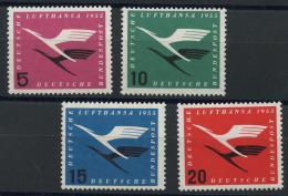 Allemagne Federale (1954) N 81 A 84 (Luxe) - [7] République Fédérale