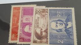 LOT 397500 TIMBRE DE FRANCE NEUF** N°436 A 439 VALEUR 55 EUROS DEPART A 1€ - France