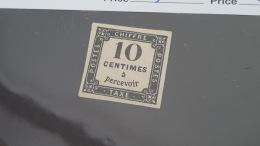 LOT 397520 TIMBRE DE FRANCE  NEUF(*) N°1 VALEUR 7500 EUROS TB - 1859-1955 Neufs
