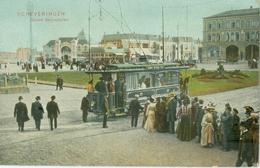 Scheveningen 1906; Gevers Deijnootplein (Tramway) - Niet Gelopen. (Dr. Trenkler Co. - Leipzig) Lees Info! - Scheveningen
