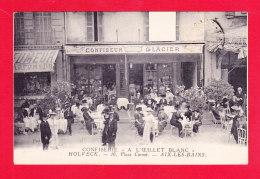 """F-73-Aix Les Bains-40Ph90 Confiserie Holvek à L'Oeillet Blanc"""", La Terrasse, Animation, Cpa - Aix Les Bains"""