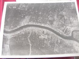 PHOTO AERIENNE / AVIATION MILITAIRE BELGE / YSER  / 28 MAI 1916 - Guerre, Militaire