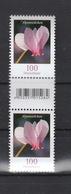 Deutschland BRD ** 3365 Blumen Alpenveilchen  SZd 2,   Neuausgabe 1.3.2018 - Ungebraucht