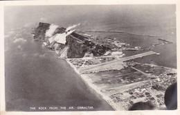 THE ROCK FROM THE AIR, GIBRALTAR. COPYRIGHT REX.-BLEUP - Gibraltar