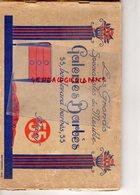 75- PARIS- RARE CATALOGUE ART DECO- 1925- GALERIES BARBES- MEUBLE MOBILIER- FAUTEUIL-CABINET-CHAISE-SALON - Home Decoration
