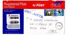 MK604a - AUSTRALIA 2006, Lettera RACCOMANDATA Per L'Italia . - 2000-09 Elizabeth II