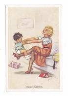 Illustrateur Germaine Bouret, Amour Maternel, Mère En Enfant, Ours En Peluche, Jouet, 1956, éd. Superluxe - Bouret, Germaine