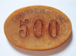 ANCIEN JETON CASINO 500 AVIATION CLUB DE FRANCE. - Casino