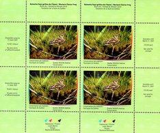 Canada - 2006 - Quebec Wildlife Habitat Conservation - Western Chorus Frog - Mint Miniature Sheet - Unused Stamps