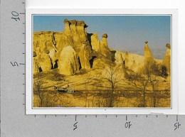 CARTOLINA NV DE AGOSTINI - TURCHIA - CAPPADOCIA - I Camini Delle Fate - Vedute Dal Mondo - 10 X 15 - Turchia