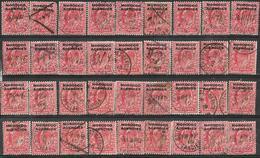7Rr-786:  Restje Van Zegels: 36x N°2 1915 : One Penny.. ... Om Verder Uit Te Zoeken.. - Levant Britannique