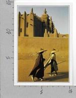 CARTOLINA NV DE AGOSTINI - MALI - Djenne - La Moschea D'argilla - Vedute Dal Mondo - 10 X 15 - Mali