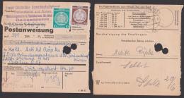 Germny East Heiligendamm , PA 1959, Frankiert Mit Dienstmarken, Rare Verwendung Der Verwaltungspost B - Service