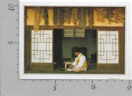 CARTOLINA NV DE AGOSTINI - COREA DEL SUD - Seoul - Un Erborista Coreano - Vedute Dal Mondo - 10 X 15 - Corea Del Sud