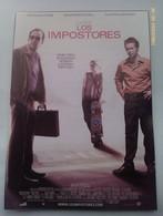 Folleto De Mano. Película Los Impostores. Nicolas Cage. Sam Rockell. Ridley Scott. Nuevo. Reproducción Actual Autorizada - Non Classificati