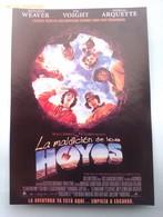 Folleto De Mano. Película La Maldición De Los Hoyos. Sigourney Weawer. Jon Voight. Andrew Davis. Nuevo. Reproducción - Merchandising