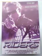Folleto De Mano. Película Riders. Stephen Dorff. Natasha Henstridge. Gérard Pires. Nuevo. Reproducción Actual Autorizada - Merchandising