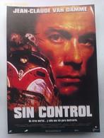 Folleto De Mano. Película Sin Control. Jean-Claude Van Damme. Laura Elena Harring. Bob Misiorowski. Nuevo. Reproducción - Merchandising