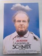 Folleto De Mano. Película A Propósito De Schmidt. Jack Nicholson. Kathy Bates. Alexander Payne. Nuevo. Reproducción - Merchandising