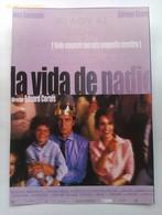 Folleto De Mano. Película La Vida De Nadie. José Coronado. Adriana Ozores. Marta Etura. Eduard Cortés. Nuevo - Merchandising