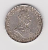 Austria/Hungary 1 Korona 1896 KB Franz Joseph I - Autriche