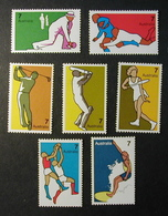 AUSTRALIA 1974 - DEPORTES - YVERT Nº 535-541** - MICHEL 550-556 - SCOTT 590-596 - Ski Nautique