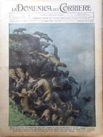 La Domenica Del Corriere 15 Agosto 1937 Ciano Faruk Varnava Manovre Atletica Usa - Libri, Riviste, Fumetti