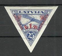 LETTLAND Latvia 1931 Michel 192 B WZ Normal Vertical * - Latvia