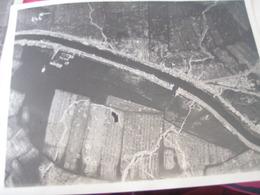 PHOTO AERIENNE / AVIATION MILITAIRE BELGE /TANKS A PETROLE    / 1 MAI 1916 - Guerre, Militaire