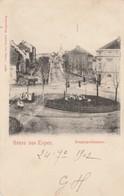 Gruss  Aus  Eupen  , Bergkapellstrasse ,1902 - Eupen