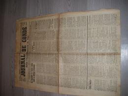 Lot De 6 Exemplaires JOURNAL DE CONDE (sur Noireau Et L'arrondissement De Vire.Juin Et Juillet 1941 No 22 23 24 25 27 28 - Periódicos