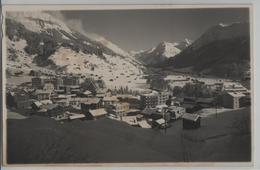 Klosters Mit Silvrettagruppe Im Winter En Hiver - Photo: Berni No. 135 - GR Grisons