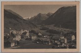 Klosters-Platz Mit Silvrettagruppe - Photo: Gust. Walty - GR Grisons