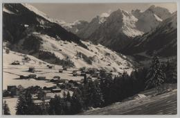 Klosters - Silvrettagruppe Im Winter En Hiver - Photo: Berni No. 72 - GR Grisons