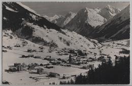 Klosters Und Silvrettagruppe Im Winter En Hiver - Photo: Berni No. 250 - GR Grisons