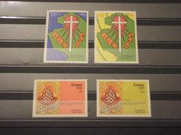 GUYANA - 1973 PASQUA  4 VALORI - NUOVI(++) - Guiana (1966-...)