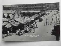 Bombay, Bazar Scene, Belebt, Altes Auto - India