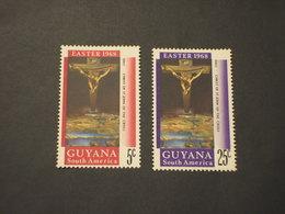 GUYANA - 1968 PASQUA(CROCE) 2 VALORI - NUOVI(++) - Guiana (1966-...)