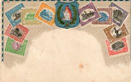 (65)  CPA  Timbres Guatemala  1910 (bon Etat) - Guatemala