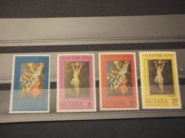 GUYANA - 1970 PASQUA QUADRI  4 VALORI - NUOVI(++) - Guiana (1966-...)