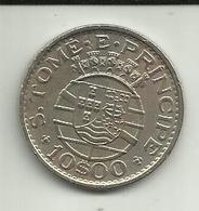 10 Escudos 1971 S. Tomé - Sao Tome Et Principe