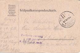 Feldpostkarte - K.u.k. F.J.B. No. 21  - 1915 (34579) - 1850-1918 Imperium