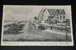 14- Noordwijk Aan Zee, Noord Boulevard Met Palace Hotel - Auto's - 1931 - Noordwijk (aan Zee)
