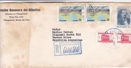 CORP BANANERA DEL ATLANTICO. USED, CHANGUINOLA TO BUENOS AIRES. PANAMA-BLEUP - Panama