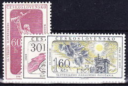 ** Tchécoslovaquie 1959 Mi 1149-51 (Yv 1034-6), (MNH) - Unused Stamps