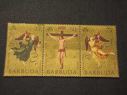 BARBUDA - 1971 PASQUA QUADRI 3 VALORI - NUOVI(++) - Antigua E Barbuda (1981-...)