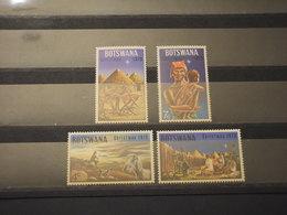 BOTSWANA - 1973 NATALE SOGGETTI 4 VALORI - NUOVI(++) - Bophuthatswana
