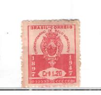 Brasile PO 1947 Arms Belo Horizonte  Scott.678+See Scan On Scott.Page - Brasile