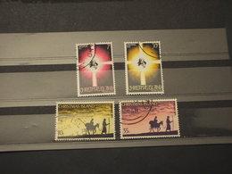 CHRISTMAS - 1975/6 NATALE  2 + 2 VALORI - TIMBRATI/USED - Christmas Island