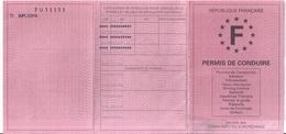 PERMIS DE CONDUIRE -RF-TOULON VAR  2002 - Non Classés
